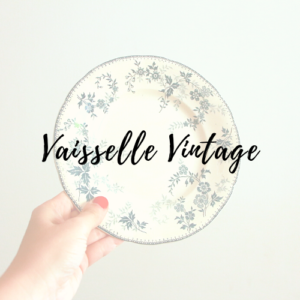 Vaisselle Vintage